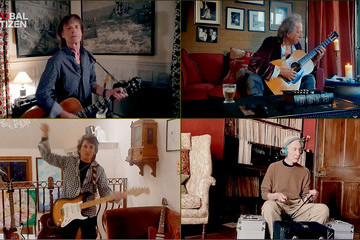 Mick Jagger Charlie Watts Global Citizen Together At Home