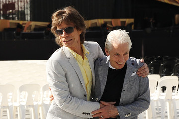 Mick Jagger Charlie Watts European Best Pics of the Day