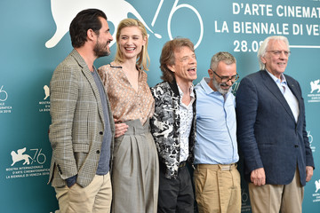Mick Jagger Director Giuseppe Capotondi Best Of Day 11 At The 76th Venice Film Festival
