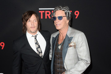 Mickey Rourke Premiere of Open Road's 'Triple 9' - Arrivals