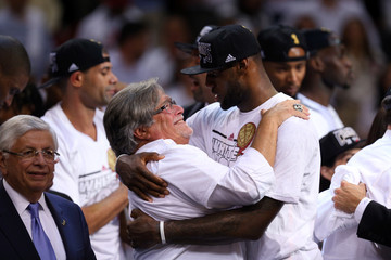 Micky Arison Miami Heat v San Antonio Spurs: Game 7