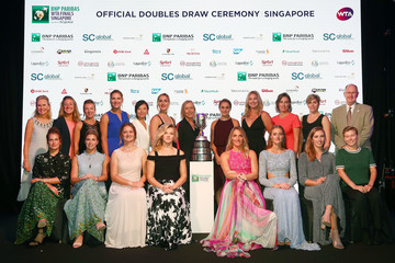 Micky Lawler BNP Paribas WTA Finals Singapore Presented By SC Global - Day 3