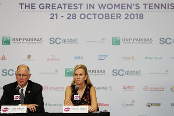 Micky Lawler BNP Paribas WTA Finals Singapore Presented By SC Global - Day 4