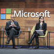 Amy Hood Satya Nadella Photos
