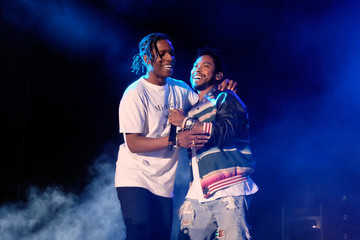 Miguel ASAP Rocky 2016 Coachella Valley Music and Arts Festival - Weekend 2 - Day 1
