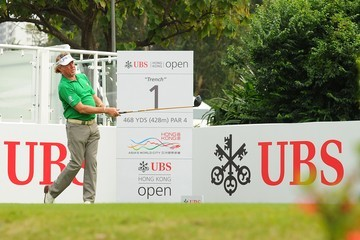 Miguel Angel Jimenez UBS Hong Kong Open - Previews