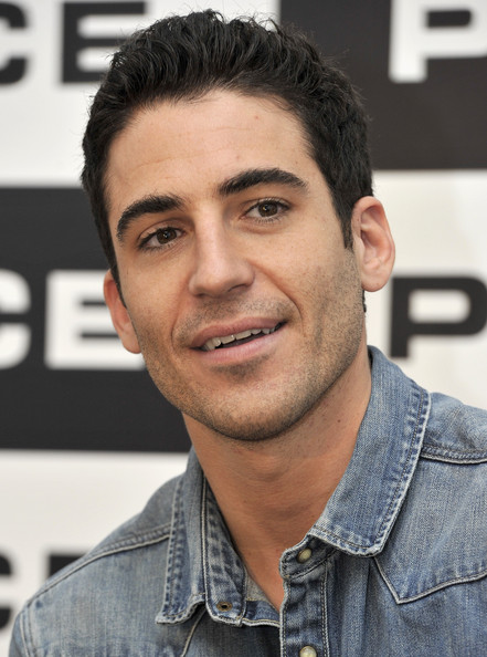 Miguel angel silvestre presents new police sunglasses collection