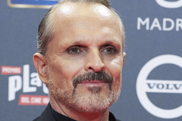 Miguel Bose Red Carpet - Platino Awards 2017