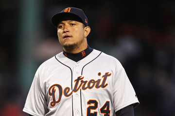 Miguel Cabrera Detroit Tigers vs. Boston Red Sox