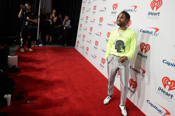 Miguel Jontel Pimentel 2018 iHeartRadio Music Festival -  Night 1 – Backstage