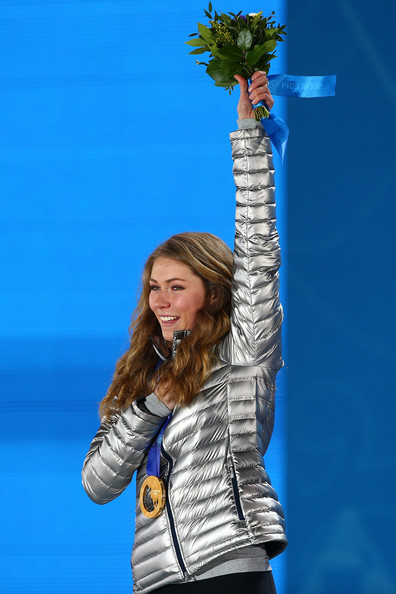 Mikaela Shiffrin Pictures Medal Ceremony Winter