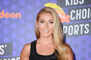 Mikaela Shiffrin Nickelodeon Kids' Choice Sports 2018 - Arrivals