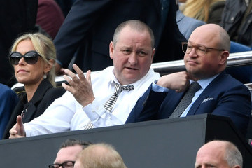 Mike Ashley Newcastle United v Barnsley - Sky Bet Championship