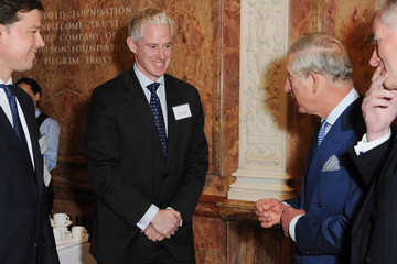 Mike Barry Prince Charles Attends Reception Launch in London