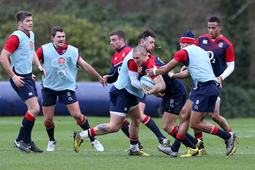 Mike Brown Jack Nowell England Media Access