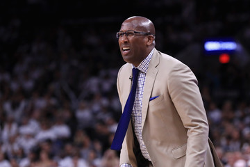 Mike Brown Golden State Warriors v San Antonio Spurs - Game Three