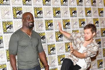 Mike Colter Comic-Con International 2017 - Marvel's 'The Defenders' Press Line