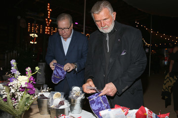 Mike Ditka Crown Royal Bag Stuffing Event at Cigars with the Stars Party