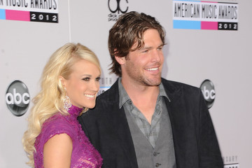 Mike Fisher Carrie Underwood The 40th American Music Awards - Arrivals