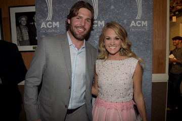 Mike Fisher Carrie Underwood 8th Annual ACM Honors - Backstage And Audience