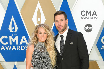 Mike Fisher Carrie Underwood The 54th Annual CMA Awards - Arrivals