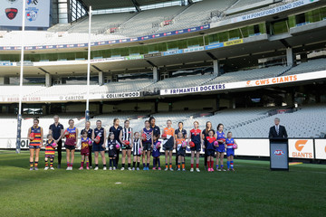 Mike Fitzpatrick AFL Women's Teams Announcement