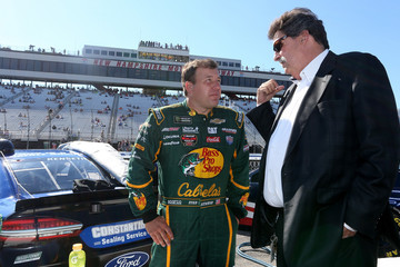 Mike Helton New Hampshire Motor Speedway - Day 1