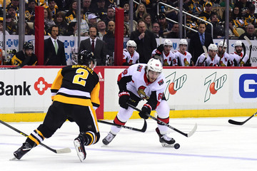Mike Hoffman Ottawa Senators v Pittsburgh Penguins