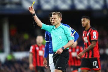 Mike Jones Everton v AFC Bournemouth - Premier League