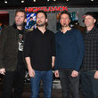 Mike Kroeger Nickelback Memorabilia Case Dedication At The Hard Rock