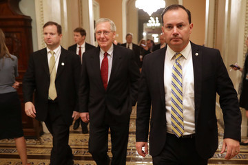 Mike Lee Members Of Congress Return To Capitol Hill Amidst New Kavanaugh Accusations