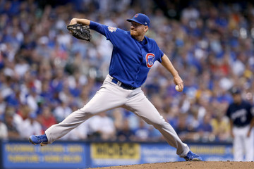 Mike Montgomery Chicago Cubs vs. Milwaukee Brewers