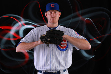 Mike Montgomery Chicago Cubs Photo Day
