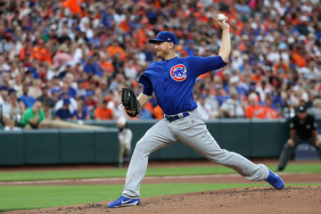 Mike Montgomery Chicago Cubs v Baltimore Orioles