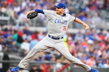 Mike Montgomery Chicago Cubs vs. Atlanta Braves