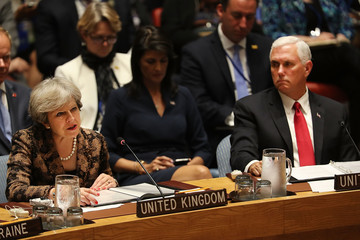 Mike Pence World Leaders Address Annual United Nations General Assembly