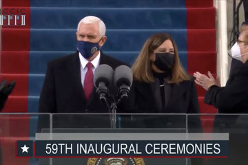Mike Pence Joseph Biden Is Sworn In As 46th President Of The United States