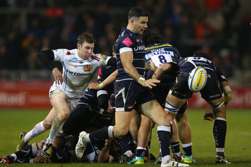 Mike Phillips Sale Sharks v Exeter Chiefs - Aviva Premiership