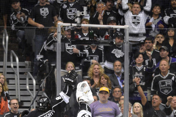 Mike Richards Drew Doughty 2014 NHL Stanley Cup Final - Game Five