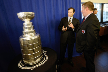 Mike Richter Stanley Cup Presentation in NYC