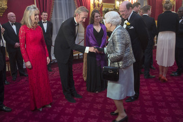 Mike Rutherford The Queen Attends Reception To Mark 80th Anniversary Of Diabetes UK