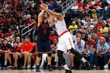 Mike Scott Cleveland Cavaliers v Atlanta Hawks - Game Four