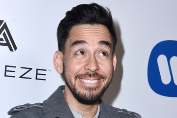 Mike Shinoda Warner Music Group GRAMMY Party - Red Carpet