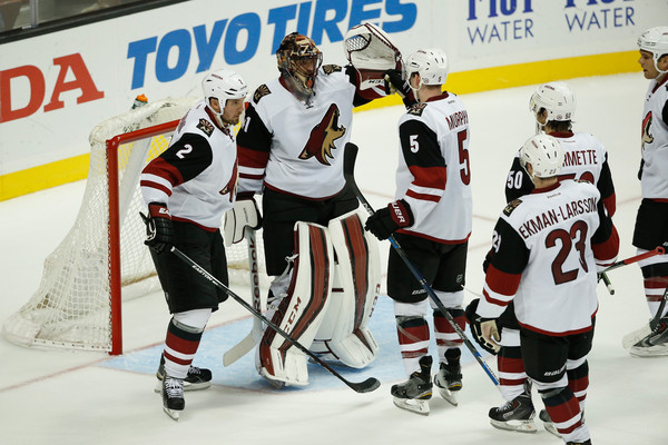 Arizona Coyotes v Anaheim Ducks []