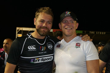 Mike Tindall Rugby Aid 2015 Celebrity Rugby Match