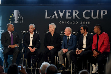 Mike Tirico Laver Cup 2018 Chicago Launch