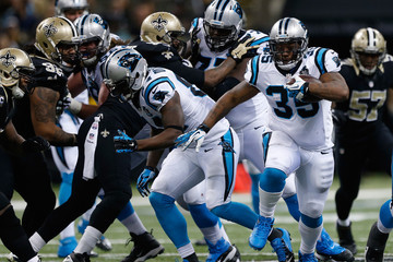 Mike Tolbert Carolina Panthers v New Orleans Saints