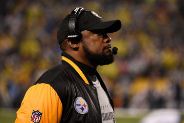Mike Tomlin New England Patriots vPittsburgh Steelers