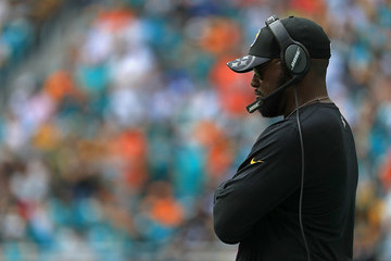 Mike Tomlin Pittsburgh Steelers v Miami Dolphins