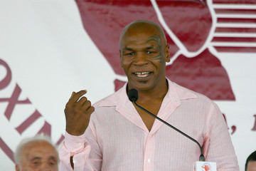 Mike Tyson 2011 International Boxing Hall of Fame Inductions